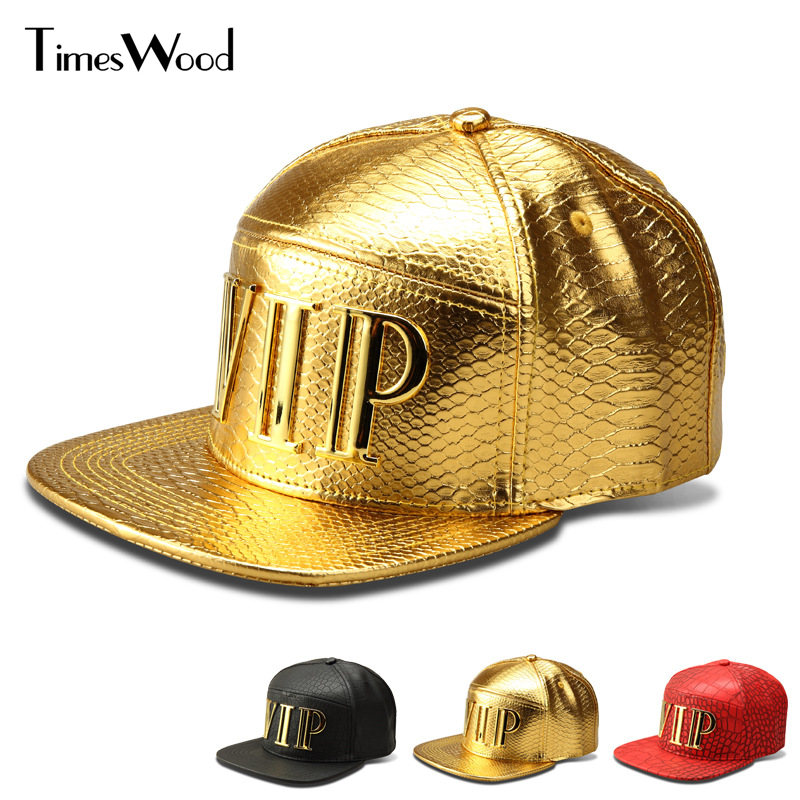 New Vip Caps Hip Hop 5 Panel Baseball Cap PU Leather Hats Unisex Gold Black Red Snapback Casquette Men Women Big Bones Aba Reta feitong summer baseball cap for men women embroidered mesh hats gorras hombre hats casual hip hop caps dad casquette trucker hat