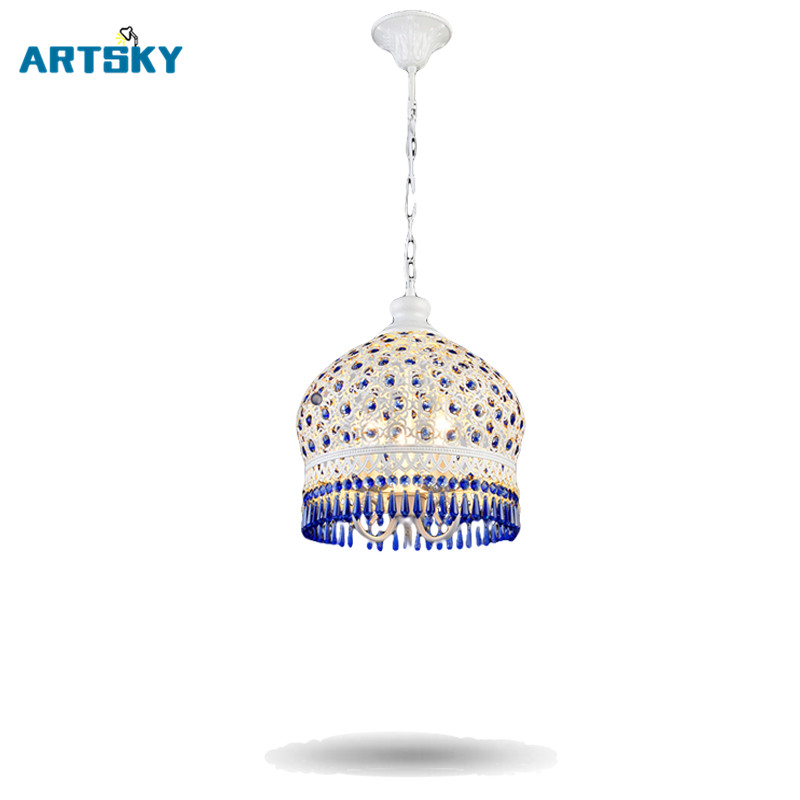Bohemia Luxury Crystal  Retro Vintage Pendant Light Lamp for Dining Room American Style Hanging Lamp for the Living Room Hotel a1 master bedroom living room lamp crystal pendant lights dining room lamp european style dual use fashion pendant lamps