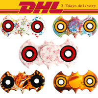 50 PCS DHL Fidget Spinner Colorful Toys Colorful Fidgets Autism ADHD Hand Spinner Anti Stress Funny gifts Rotation long time