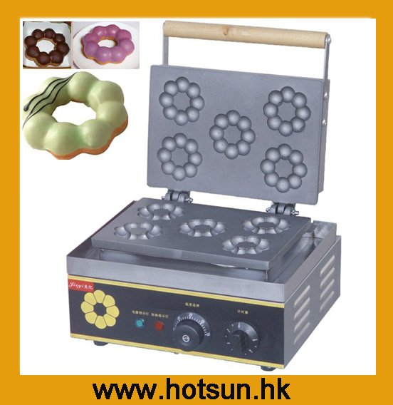 Free Shipping to United States/Canada/Japan Commercial Use 110V 220V Plum Donuts Baker turtles of the united states and canada 2e