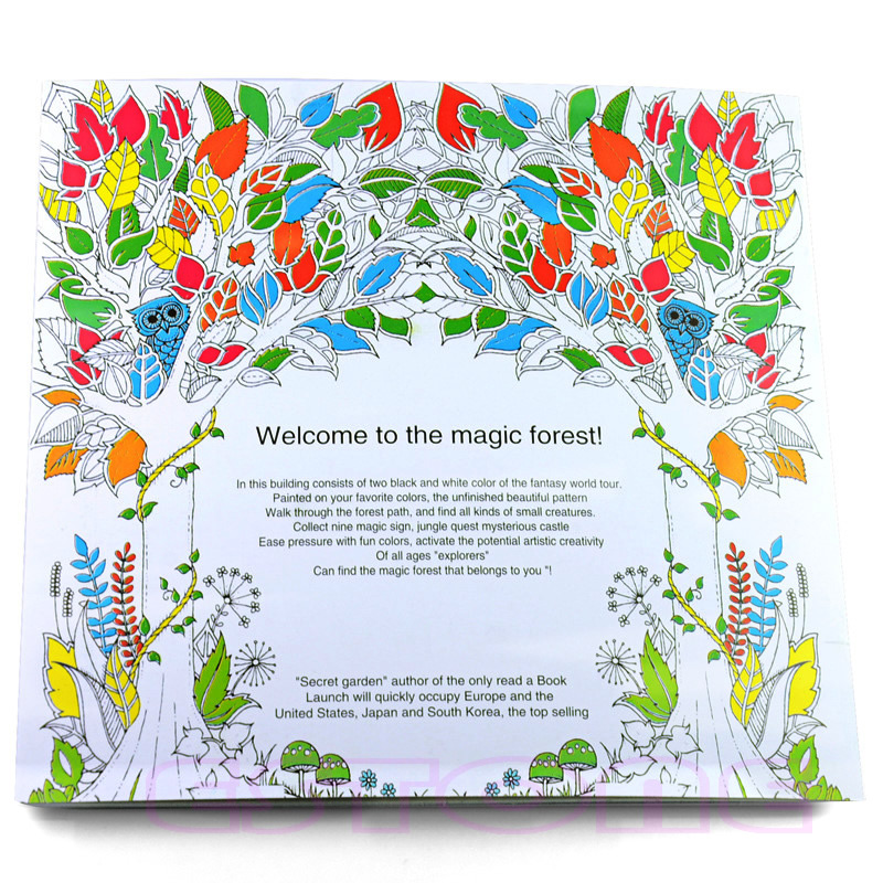 Aliexpress Buy New Children Adult Enchanted Forest English