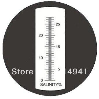Одежда высшего качества 0-28% соленость черного рефрактометр RHS-28ATC