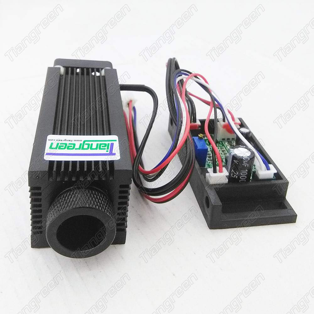 808nm 1000mW Laser Module 1W IR Laser cnc focusable with driver board Cooling Fan