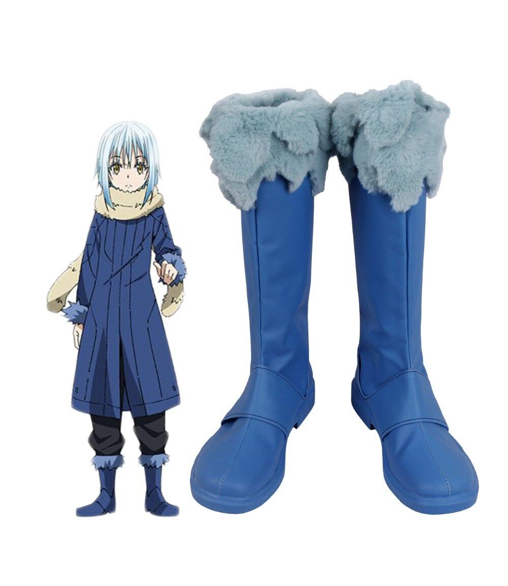 Tensei Shitara Slime Datta Ken Rimuru Tempest Cosplay Boots Shoes Custom Made