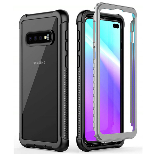 b07d81d19a For Coque Samsung S10Plus Case 360 Protection Samsung Galaxy S10E Case  Crystal Phone Cover for Samsung