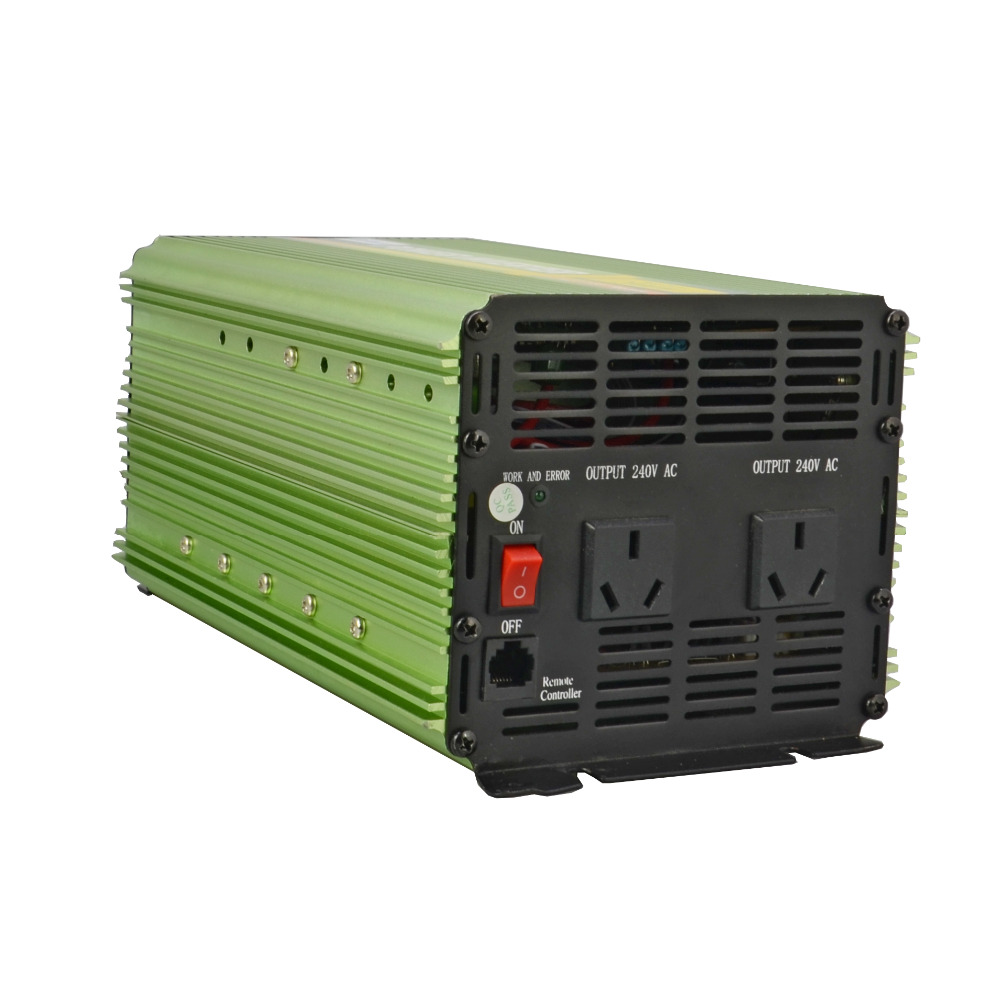 AU plug 2000W power inverter DC 12V to AC 220v 230V 240V modified sine wave inverter with remote controllerAU plug 2000W power inverter DC 12V to AC 220v 230V 240V modified sine wave inverter with remote controller