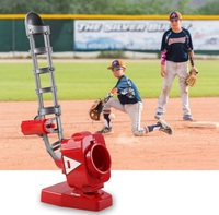 Fun mini Automatic Baseball transmitter toys for children Outdoor Sports practice Baseball Balls Toy gift launcher