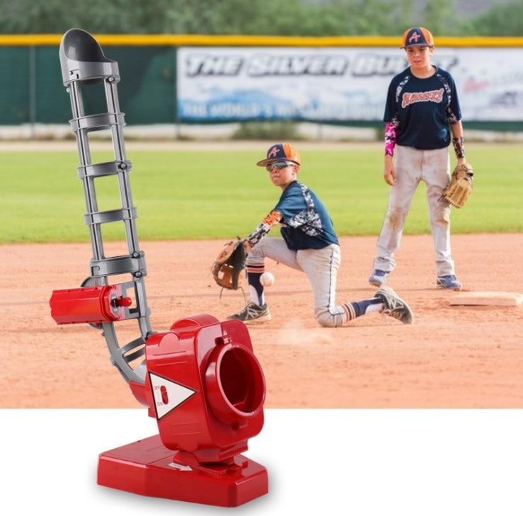 Mini transmetteur de Baseball automatique amusant jouets pour enfants Sports de plein air pratique balles de Baseball jouet cadeau lanceur