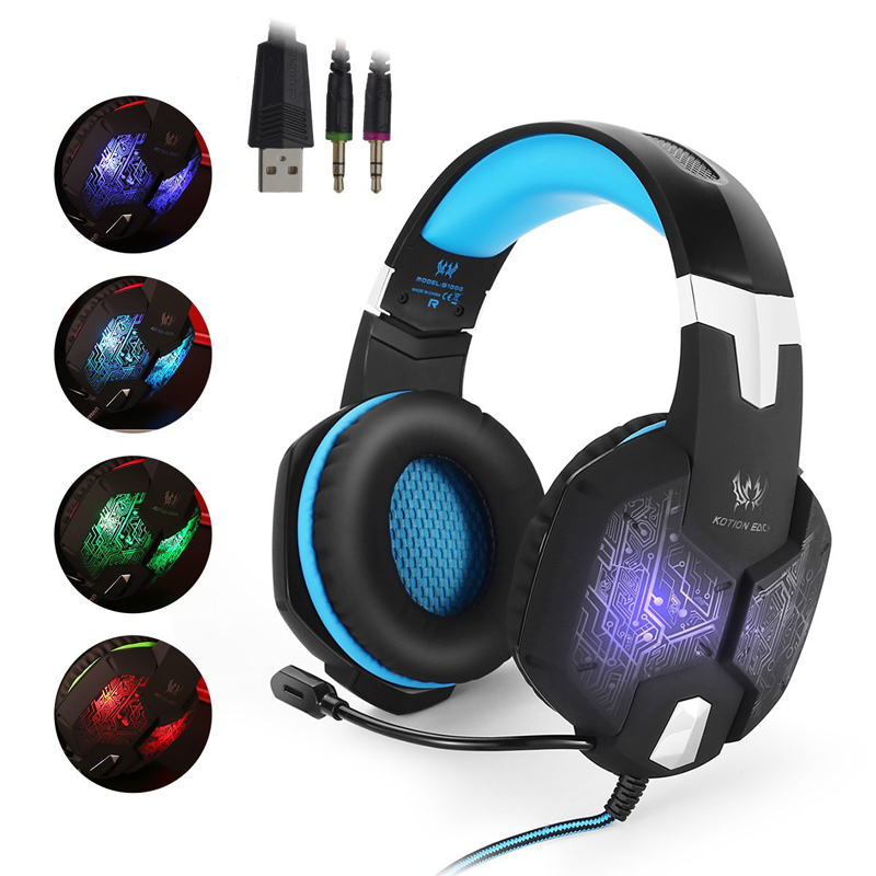 Game Headphone casque Gaming Headset stes