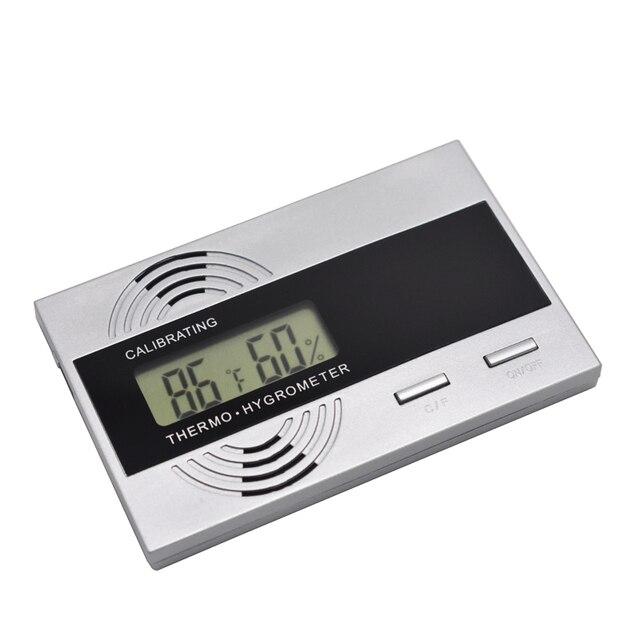 Accurata Precisione Cigar Igrometro Termometro Elettronico Meccanico Digitale Ig