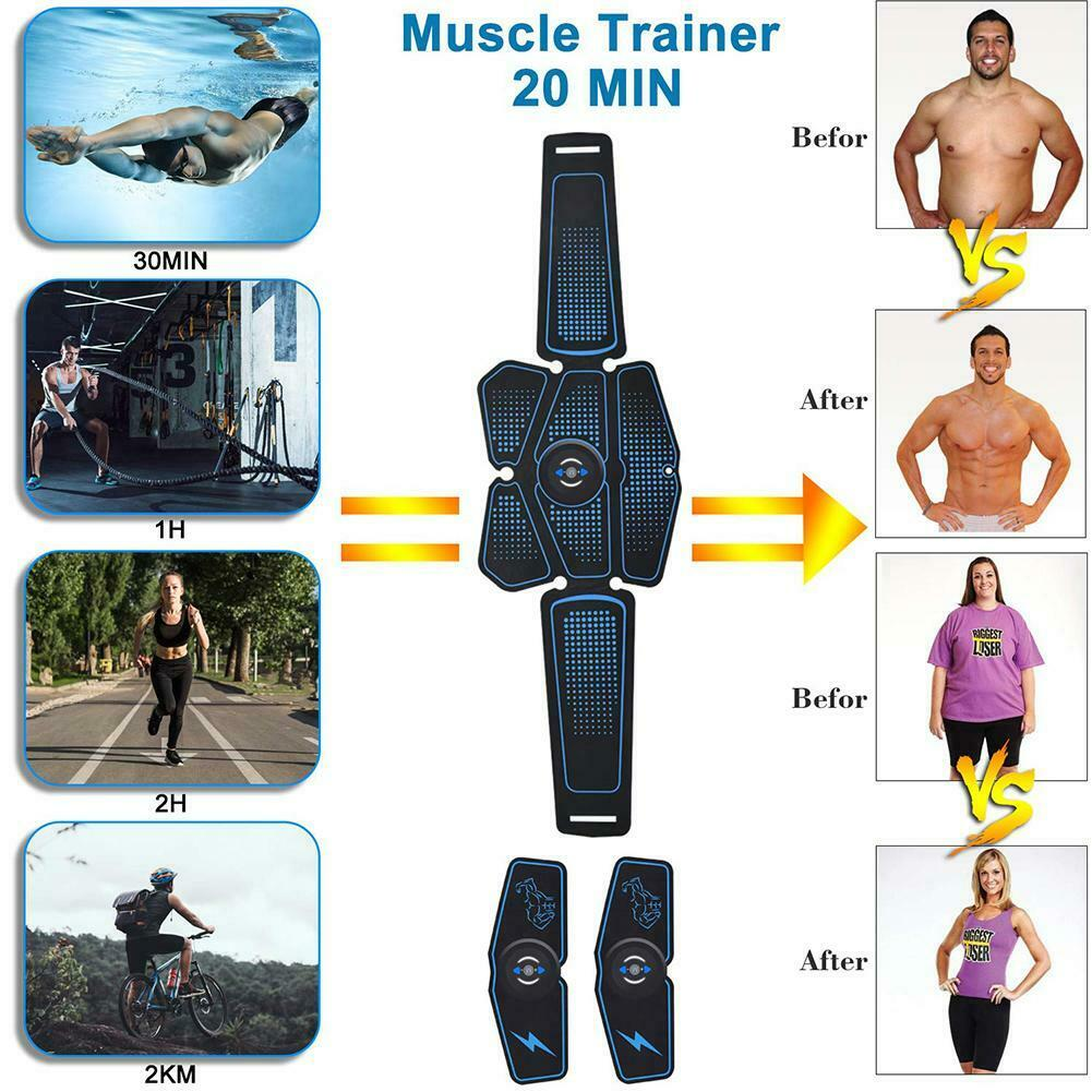 Muscle trainer , Abs Toner belt