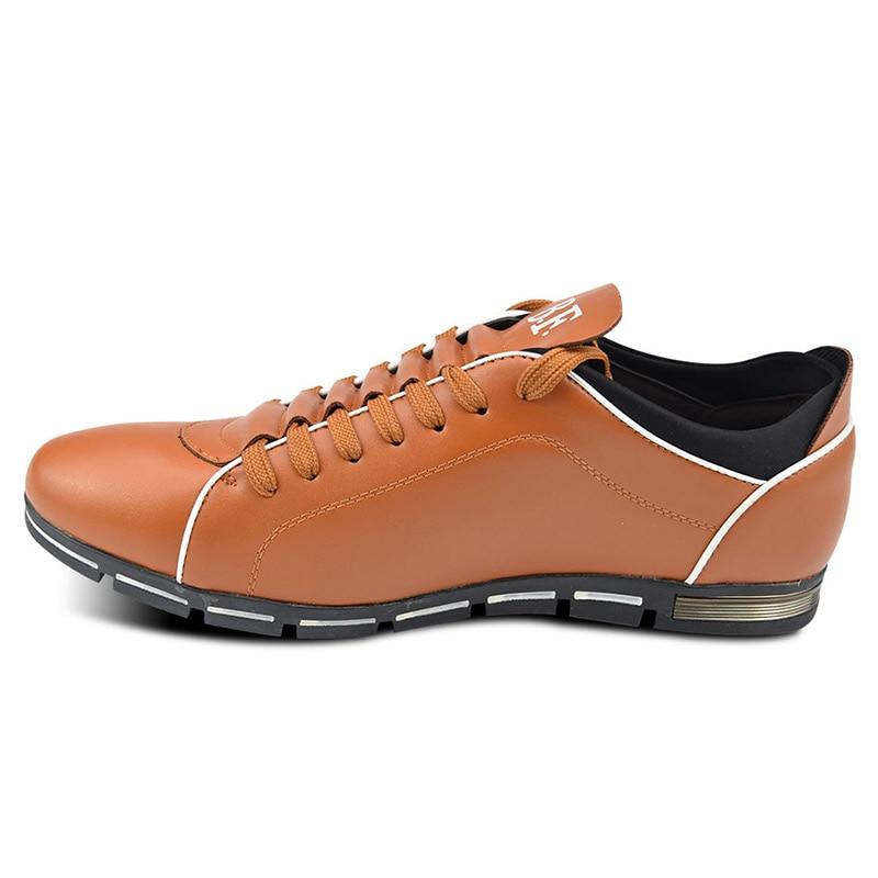 Zplover Big Size 37-50 muške casual cipele modne kožne cipele - Muške cipele - Foto 3