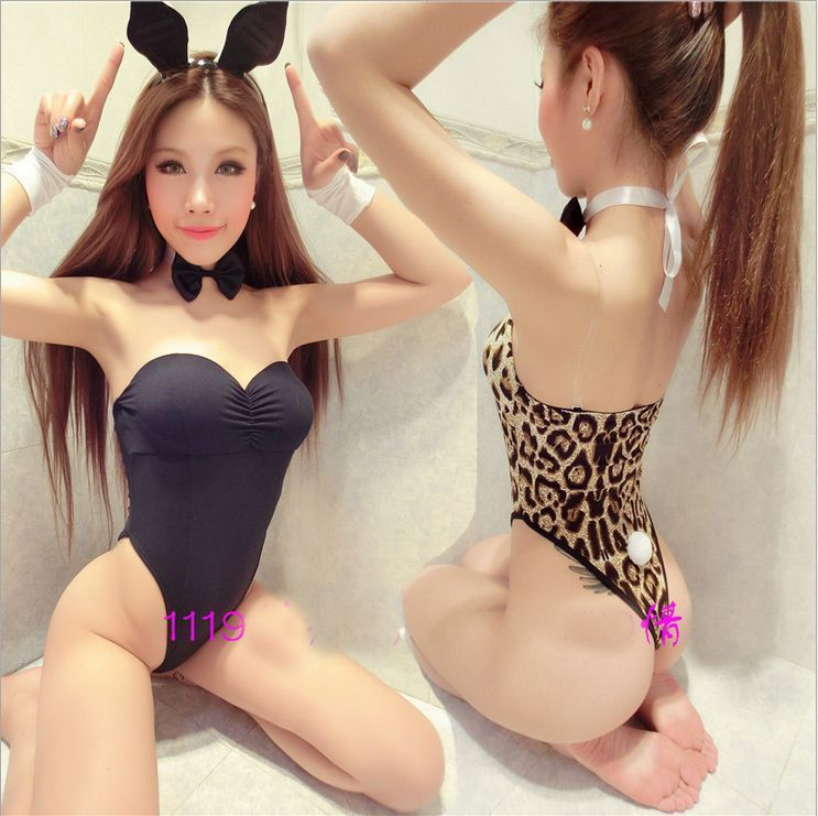 Hot bunny costume sex spread porn nudity