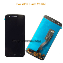 5.0 1280x720 For ZTE Blade V8 Lite LCD Display + Touch Screen Panel  Digitizer Assembly Mobile Screen touch panel with matrix for highscreen spade lcd display and touch screen digitizer panel assembly for highscreen spade