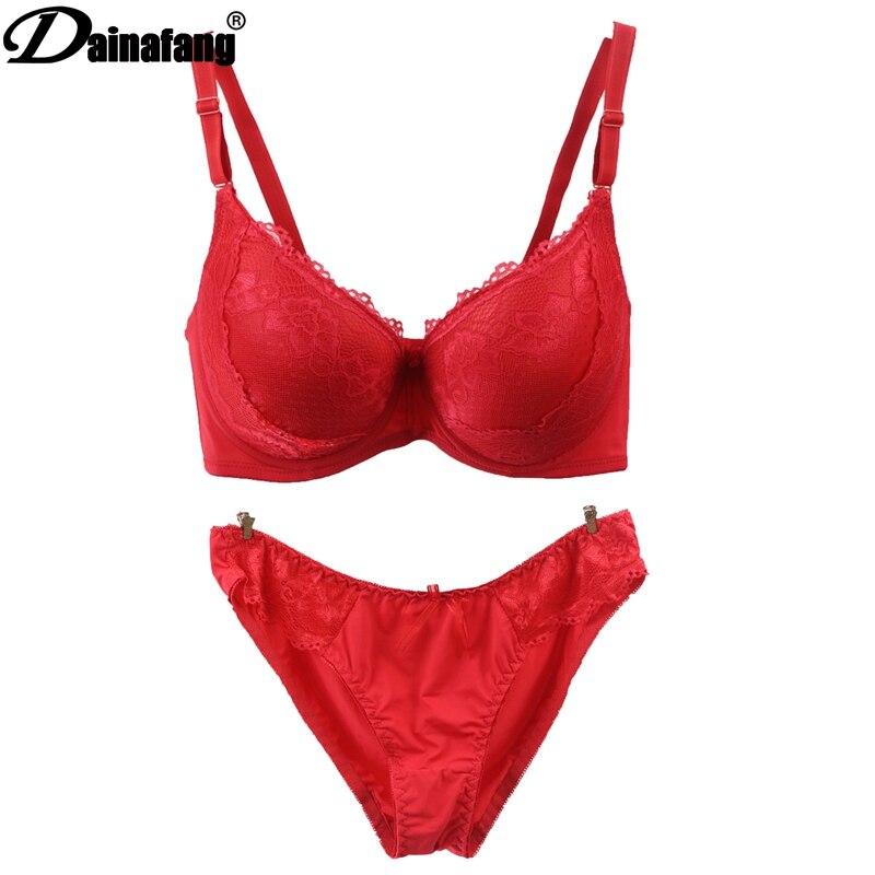 Նոր սեքսուալ փափուկ արտադրանքներ Out T Hongs Ներքնազգեստի հավաքածու, ասեղնագործված ժանյակավոր հարդարանք կանանց ներքնազգեստ G-լարային զգեստ Տաբատ Bras հավաքածուներ
