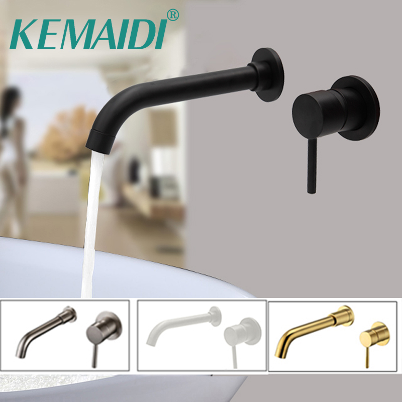 KEMAIDI Basin Faucets Brass Polished Chrome Deck Mounted Square Bathroom Sink Faucets 3 Hole Double Handle Hot And Cold Tap labour welfare in india