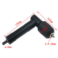 Hardware Tools Drill Right Angle Bend 90 Degrees From The Grip Extends Accessories 10mm Head Distribution