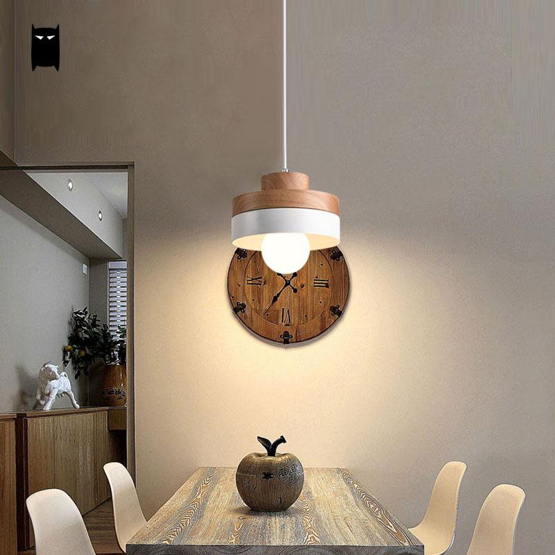 Black White Oak Wood Iron Round Square Pendant Light Cord Fixture Modern Nordic Japanese Hanging Ceiling Lamp Dining Room Cafe vintage loft japanese style diamond 35 45cm pendant light oak wood iron shade retro lamp e27 110 220v cord hanging light fixture