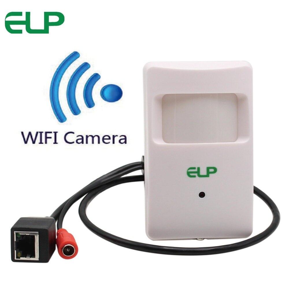 1.0 мегапиксела 1280x720 HD Mini Wi-Fi ip-камера ПИР IP-камера Беспроводной с DC 12 В источника питания Поддержка мобильного мониторинга