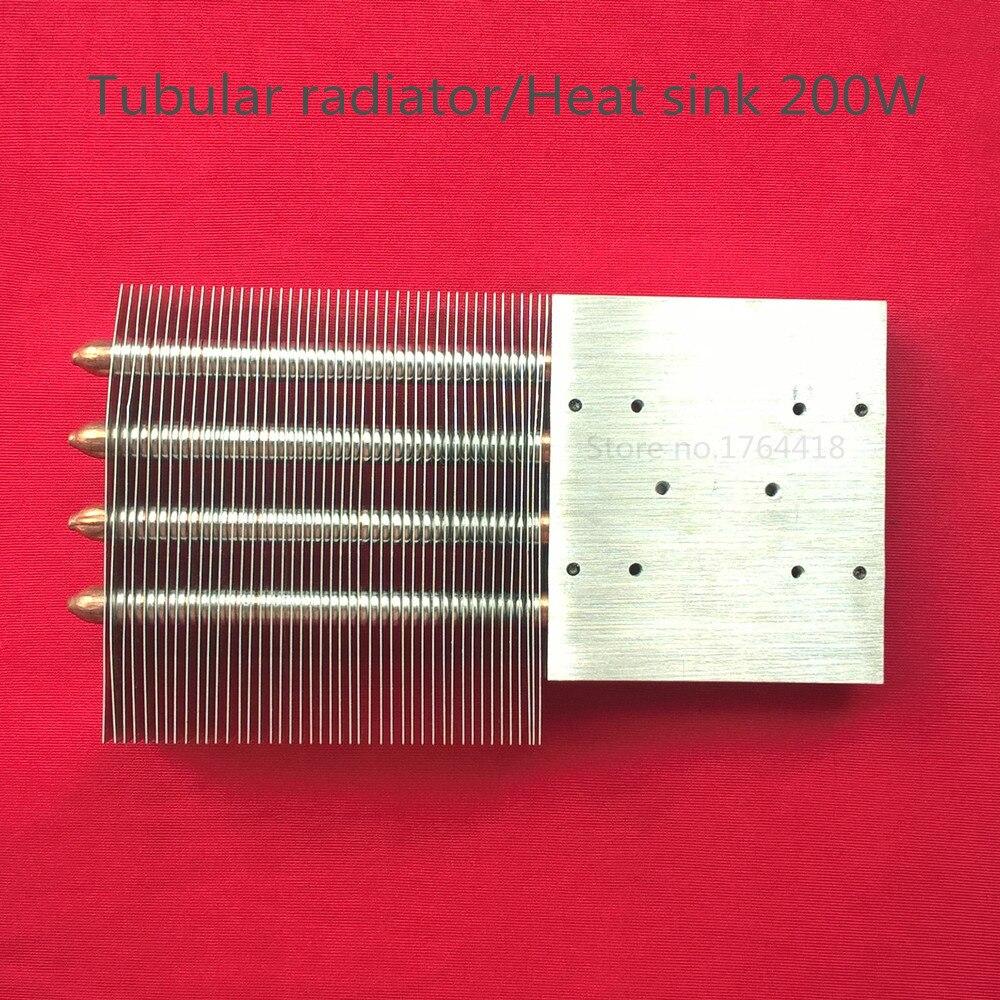 1 pezzo HD 1080 p 1080*1920 HA CONDOTTO il proiettore/proiezione fai da te kit di rame tubolare radiatore/dissipatore di calore 200 W per home cinema fai da te