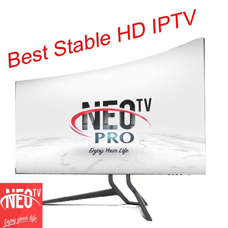 Neotv belgium portugal spanish italian Iptv subscription stream player one year KODI iptv code channel support smart tv  roku 3