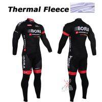 Winter Cycling Clothing Bora Argon 18 Winter Thermal Cycling Jersey Long Fleece Maillot Ropa Ciclismo Winter