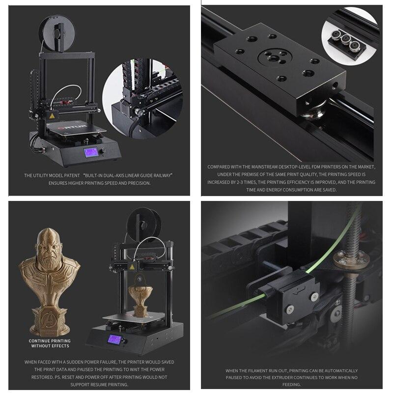 24V Safe Power Supply Ortur4 Imprimante 3d Overheating Protection 3d Drucker Resume Printing All Metal Impresora 3d 2