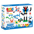 2016 JDLT DIY edifício Set 235 PCS Super Boy Set blocos 7506