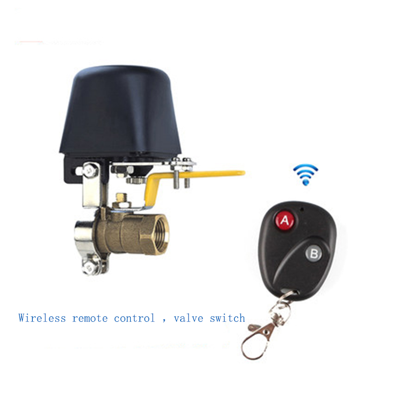 Wireless remote control valve switch water gas alarm robot automatic electric switch remote control valve switchDC12