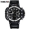 YISUYA Sports Men Watches Luxury Brand LED Electronic Digital Watch 3ATM Waterproof Outdoor Men Wristwatches Sports Watches