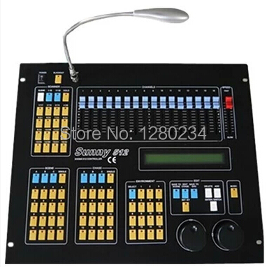 cheap price sunny dmx512 dj controller for moving head light led par light control stage. Black Bedroom Furniture Sets. Home Design Ideas