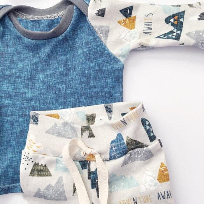 2016 Zima Jesień Noworodka Ubrania Dla Niemowląt Zestaw Niemowląt - Odzież dla niemowląt - Zdjęcie 4