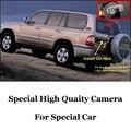 Para TOYOTA Land Cruiser LC 100 LC100 J100 1998 ~ 2007 (Puerta de la Rueda de repuesto En La Parte Posterior) de alta Calidad de Visión Trasera Cámara CCD | RCA
