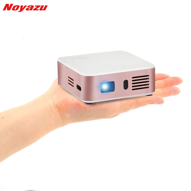 Flash Promo Noyazu E05 Home DLP Projector 1500 Lumens Support Airplay Miracast for IOS & Android 1G+8G AC3 Bluetooth WIFI Mini Proyector
