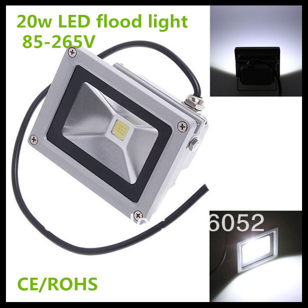 20W 85-264V 900LM Waterproof Pure White led outdoor spot light LED Landscape Lighting outdoor LED FloodLight free shipping