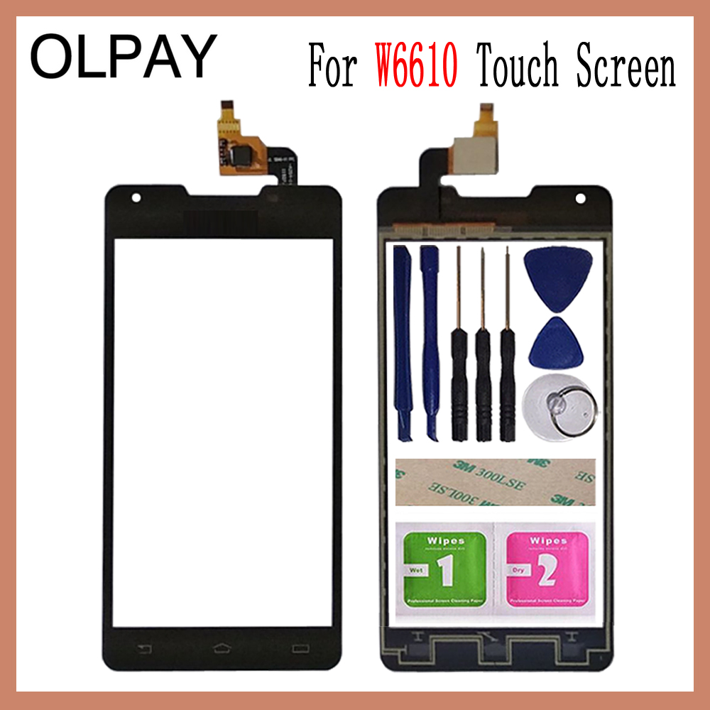 OLPAY 5.0 inch Tested Front Outer Glass For Philips W6610 W6618 Touch Screen Digitizer Panel Lens Sensor Tools AdhesiveOLPAY 5.0 inch Tested Front Outer Glass For Philips W6610 W6618 Touch Screen Digitizer Panel Lens Sensor Tools Adhesive