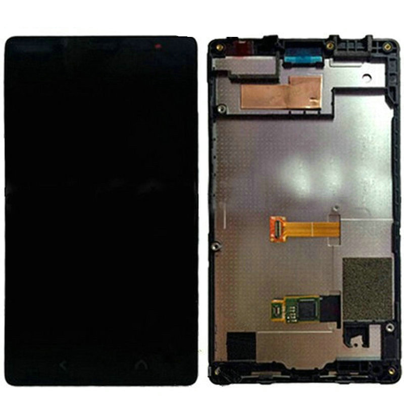 Moq 1Pcs LCD Display with Touch Screen Digitizer Assembly For Nokia Lumia X2 Black Frame Free