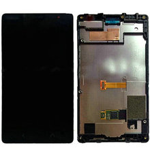 Moq 1Pcs LCD Display with Touch Screen Digitizer Assembly For Nokia Lumia X2 + Black Frame + Free Tools Free Shipping