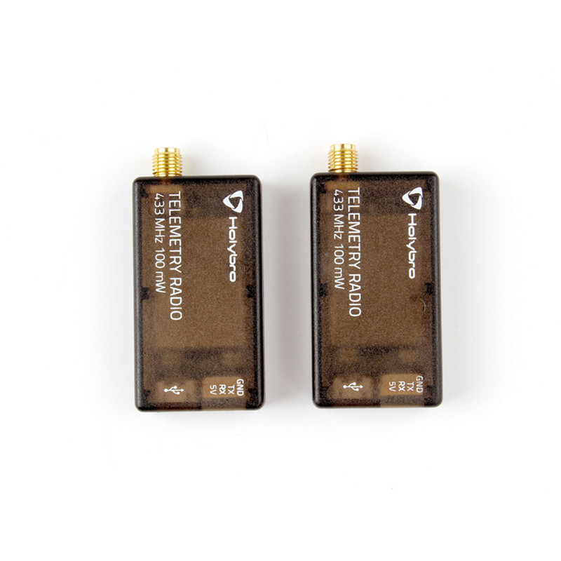 New Arrival Holybro Transceiver Telemetry Radio modules V3 Set 915Mhz 433Mhz RP SMA connector for DIY