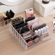 Transparent Cosmetics Boxes Creative Detachable Eco-Friendly Thickened Lipsticks Classified Multi-function Organizer
