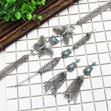 Повседневное ожерелье в стиле бохо с бабочками модные ювелирные
