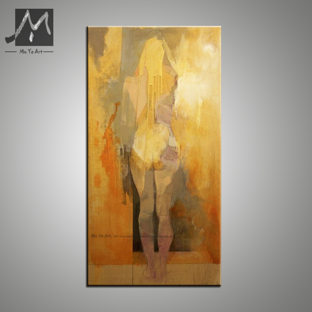 Vertical sexy nude art naked women Modern canvas art decorative ...