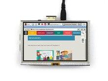 Raspberry Pi Pi2 5 дюйм(ов) +/B +/2B ЖК Raspberry pi сенсорный экран HDMI сенсорный ЖК-экран