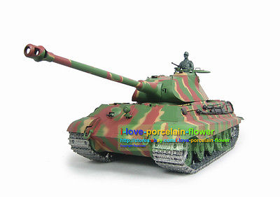 HengLong 1/16 Scale German King Tiger RC Tank 3888 Upgraded Metal Version Tracks Sprockets henglong 3869 3879 3888 3899 rc tank 1 16 parts steel drive system driving gear box free shipping