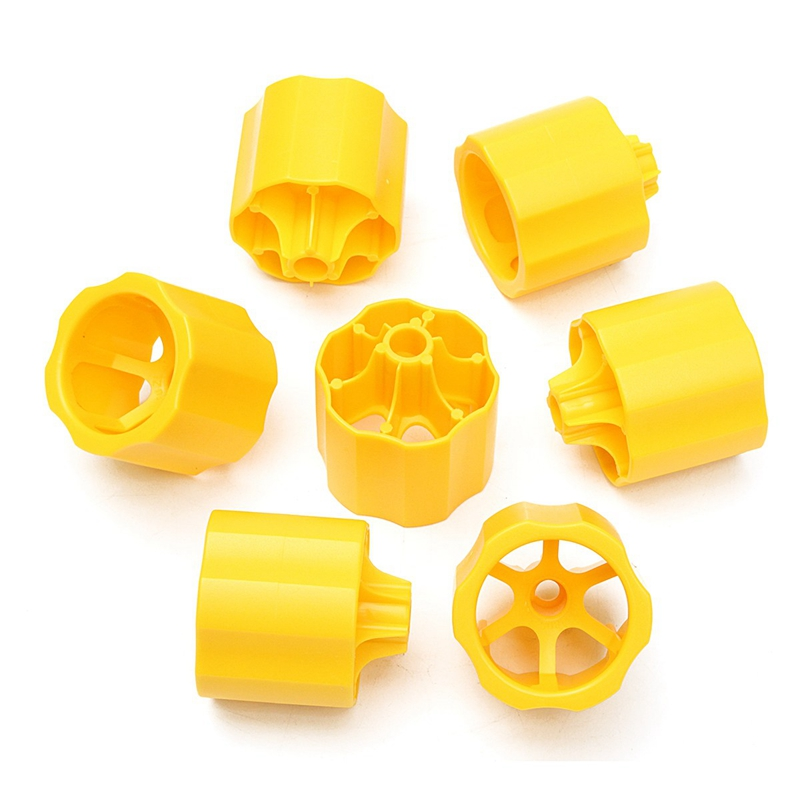 EASY-Floor Leveling System Plastic Positioning Buckle Tile Covering Tool 50 Covers + 100 Cross Spacers Plastic Floor Tool Kit