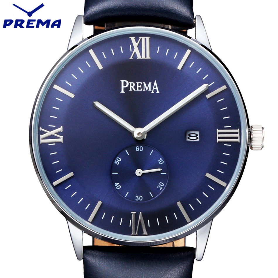 PREMA Quartz Watch For Men Women Lover Wrist Watches Top Luxury Brand Reloj Hombre 2016 New Relogio Montre Orologio Uomo Horloge new watch men auto date business fashion quartz men watch top brand wristwatch male reloj hombre orologio uomo relogio masculino