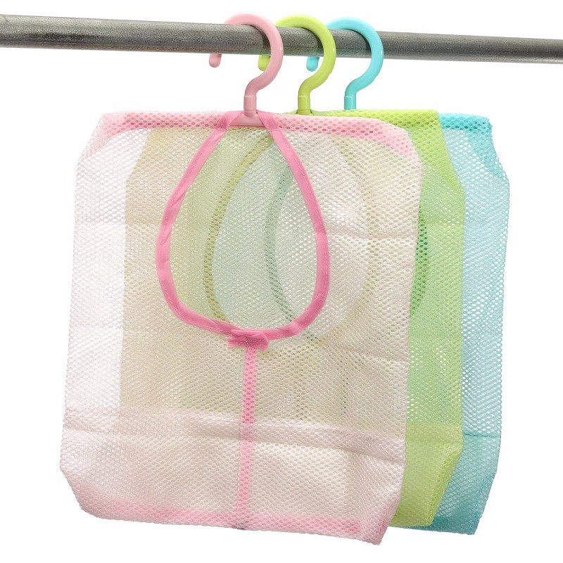 Hanging Mesh Storage Bag Clothes Toy Organizer Laundry Hook Underwear  Kitchen Bathroom Indoor Outdoor Dry Practical Pouch In Storage Bags From  Home U0026 Garden ...