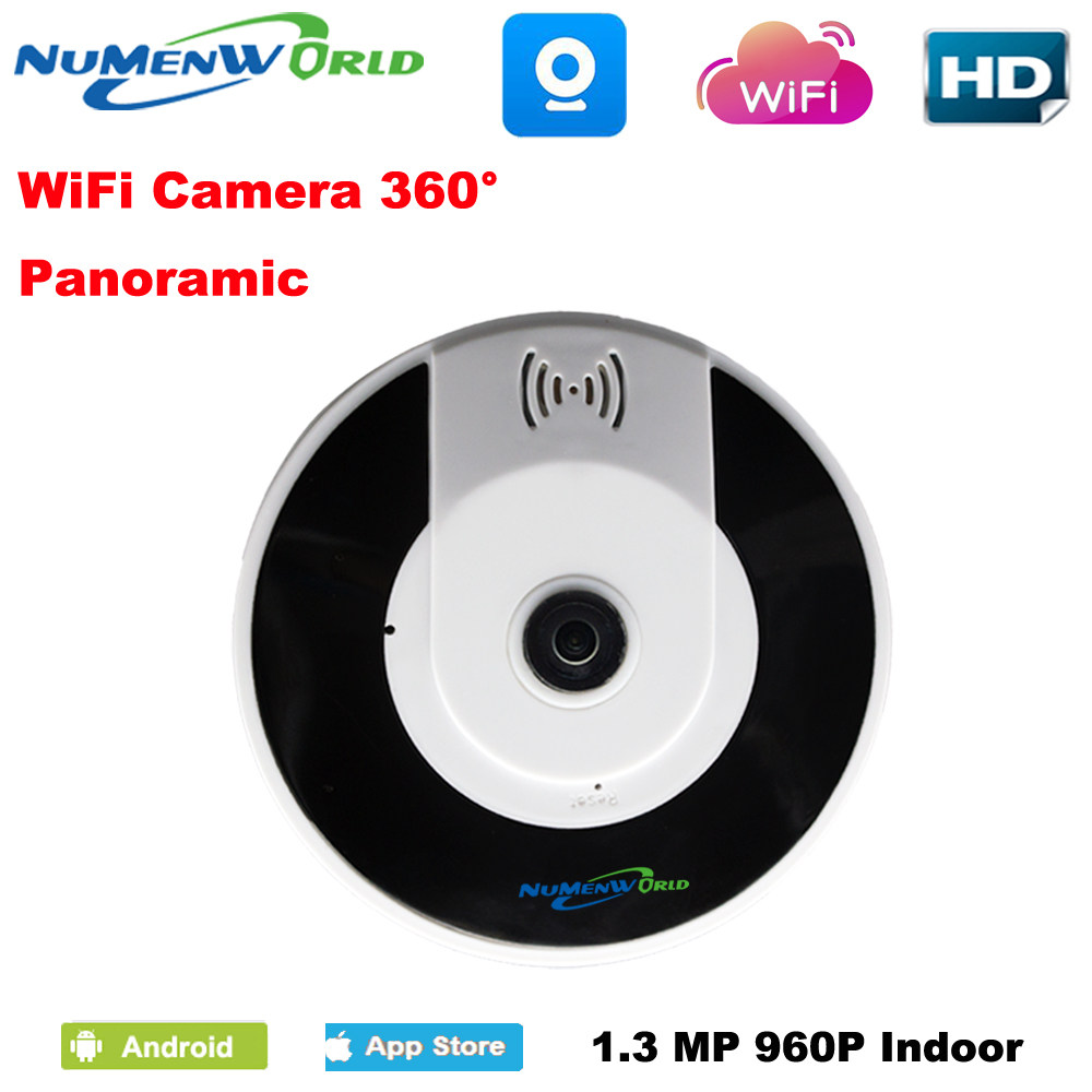 360 Degree VR Wireless Home IPC 960P  wireless indoor Fisheye Panoramic WIFI IP Camera Support P2P Baby Monitor V380 нивелир ada cube 2 360 home edition a00448