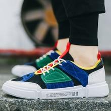 2019 spring and autumn new mens breathable sneakers trend comfortable casual wear-resistant Zapatillas de deporte