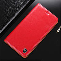PALUNI For Xiaomi Note 5 7 Case Crazy Horse Genuine Leather Wallet Case Flip Cover For